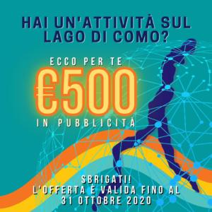 banner pubblicità digitale Bellagio